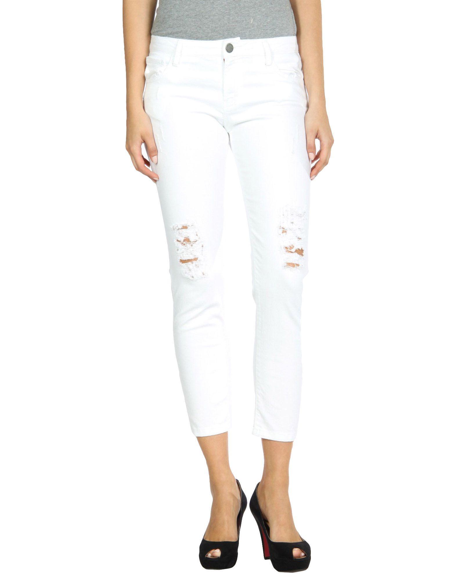 Etienne Marcel Denim Pants In White