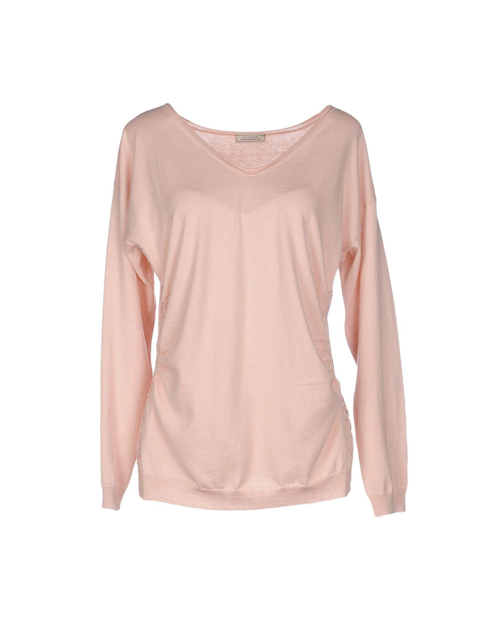 Nina Ricci Sweater In Light Pink