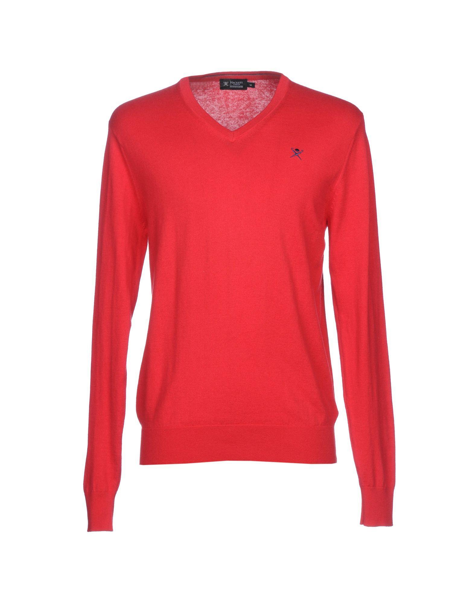 Hackett Sweater In Red