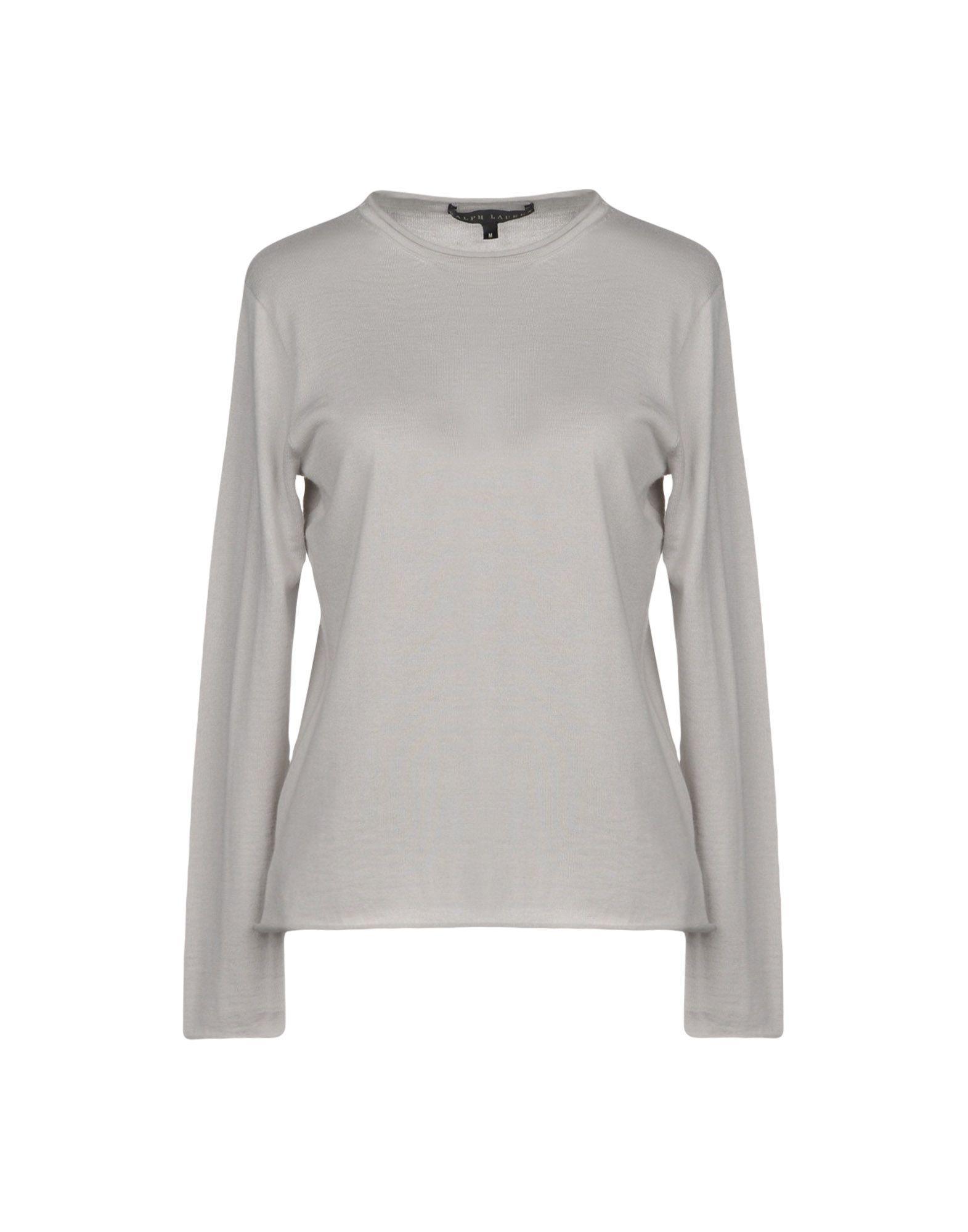 Ralph Lauren Cashmere Blend In Light Grey