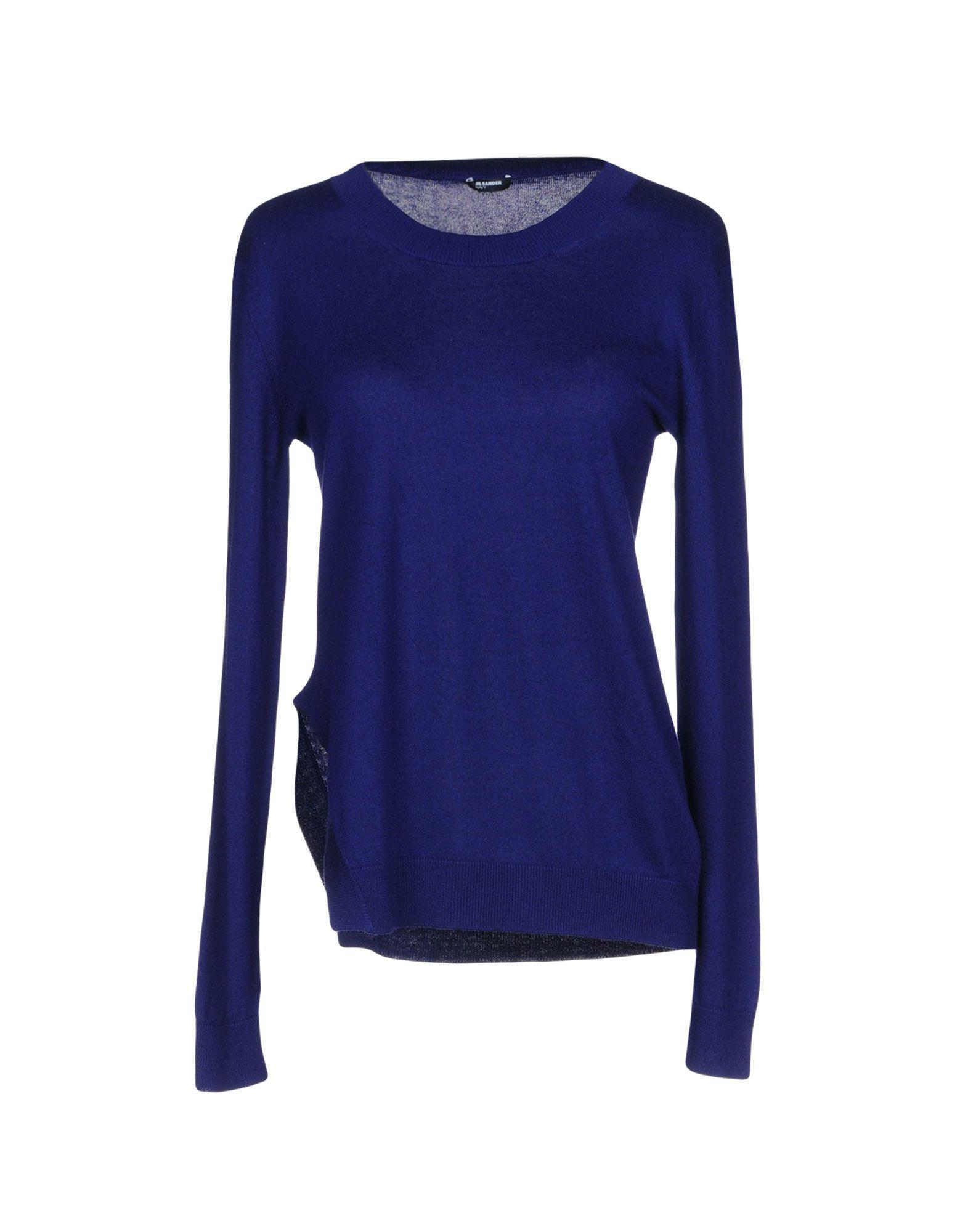 Jil Sander Sweater In Dark Purple
