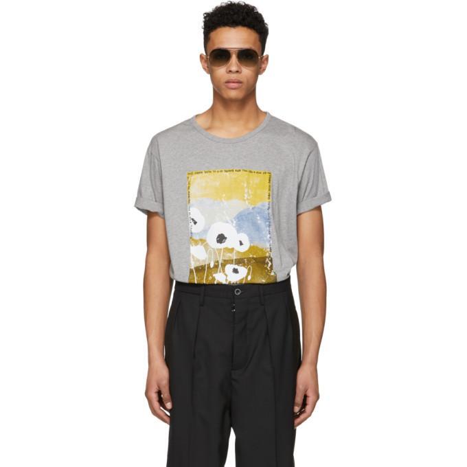 Acne Studios Grey Cotton T-shirt