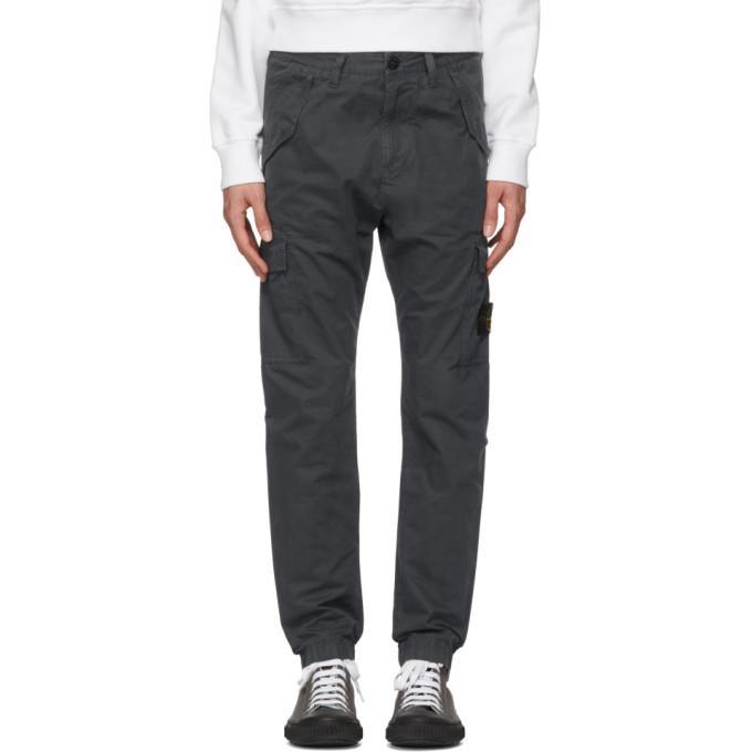 Stone Island Grey Cargo Pants