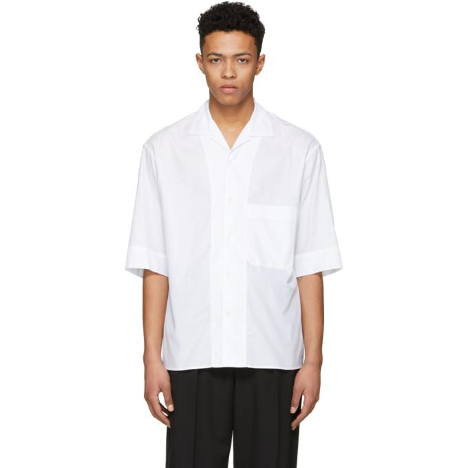 Lemaire White Bowling Shirt