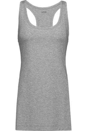 Yummie By Heather Thomson Woman Karolina Slub Stretch-jersey Tank Gray