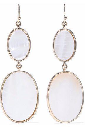 Kenneth Jay Lane Woman Gold-tone Stone Earrings Gold