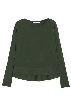 Antonio Berardi Woman Knitted Sweater Army Green