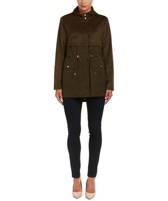 Vince Camuto Hooded Anorak In Nocolor