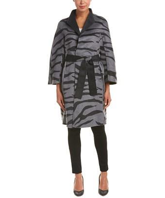 Escada Wool-blend Coat In Nocolor