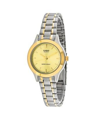 Casio General Women's Ltp-1128g-9a In Gold Tone