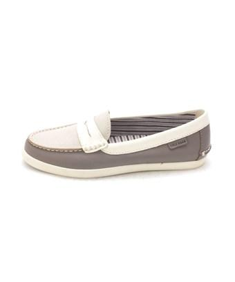Cole Haan Womens Maesam Closed Toe Loafers In Grey