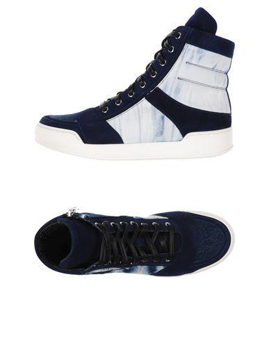 Balmain Sneakers In Dark Blue