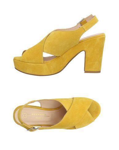Weekend Max Mara Sandals In Yellow