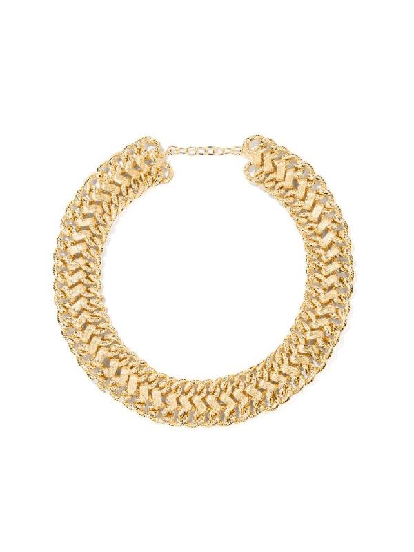 Aurelie Bidermann Gold Pistil Necklace In Not Applicable