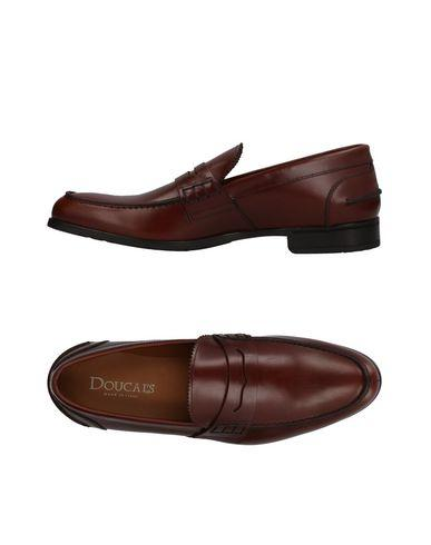 Doucal's Loafers In Cocoa