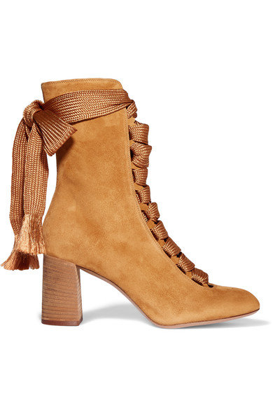 2630cc22 Lace-up suede boots