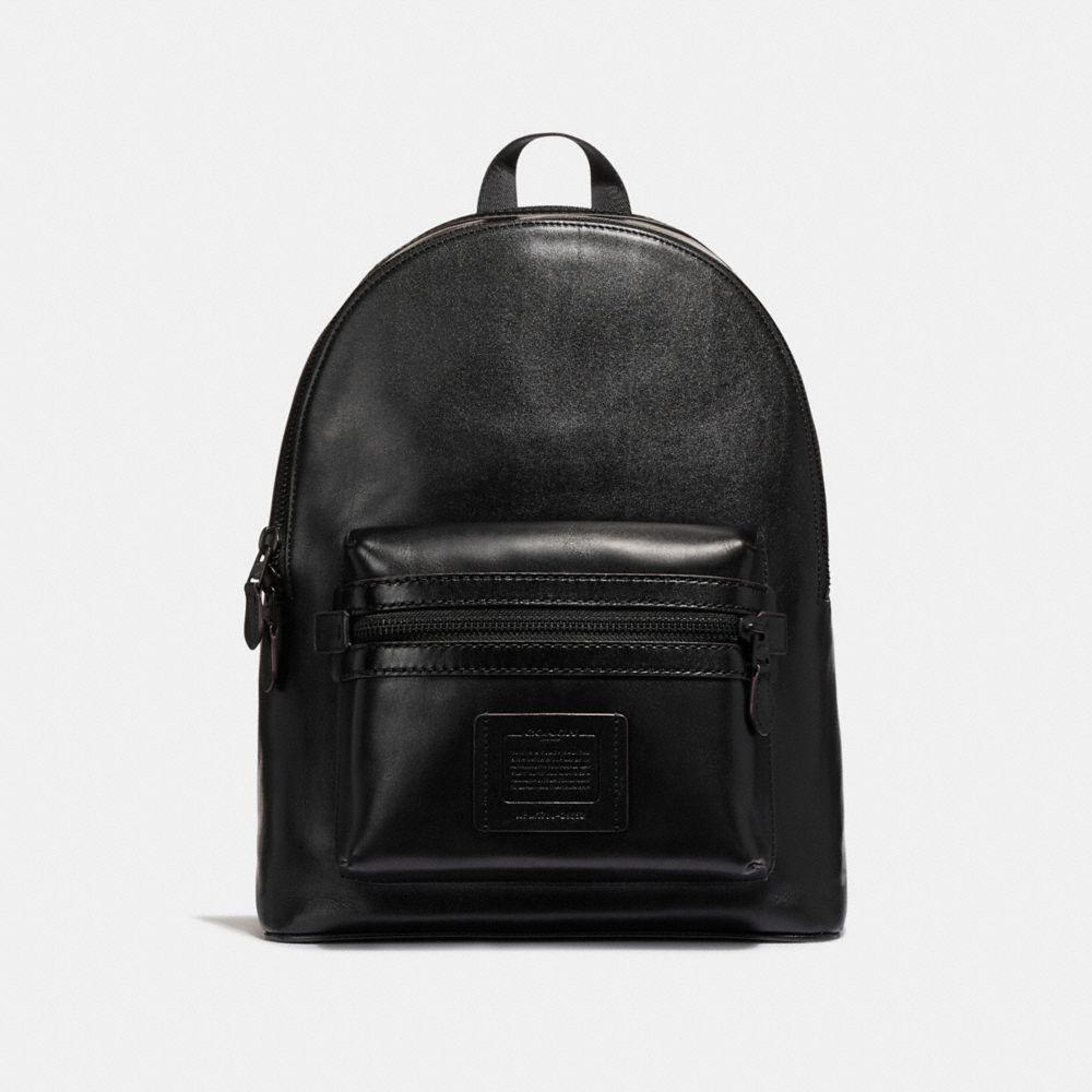 Coach Academy Backpack - Men's In Black/matte Black