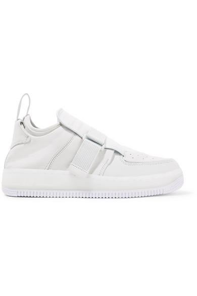 Nike The 1 Reimagined Air Force 1 Explorer Xx Suede And Leather Sneakers In White
