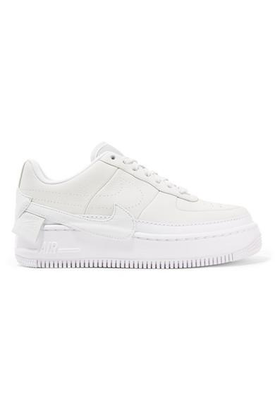 Nike The 1 Reimagined Air Force 1 Jester Xx Textured-leather Platform Sneakers In Usd