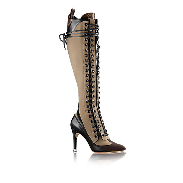 8dc20daeaf7 Louis Vuitton Laureate High Boot