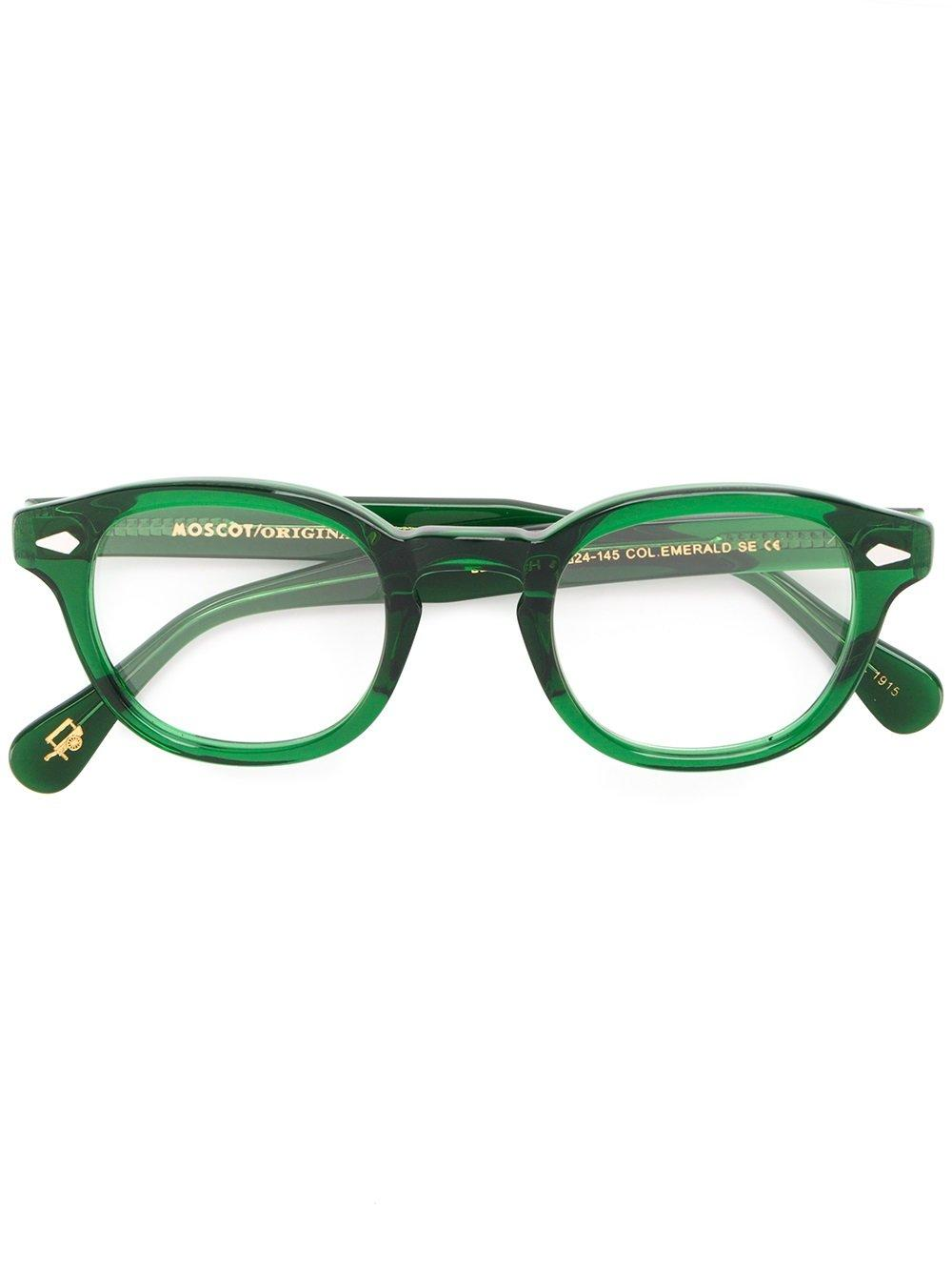 Moscot 'lemtosh' Glasses In Green