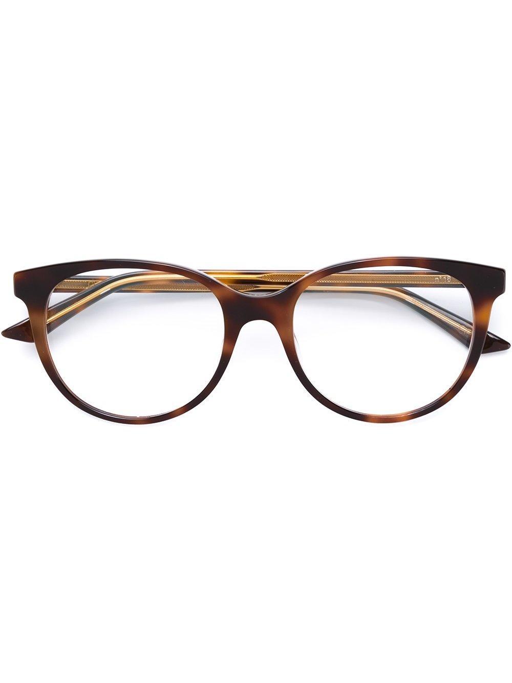 Dior Brille Mit Rundgestell In Brown