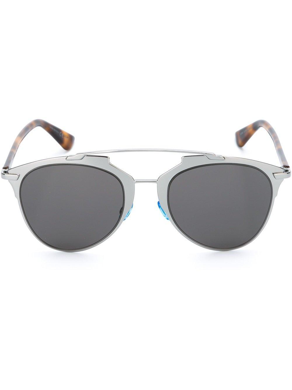 Dior 'reflected' Sunglasses In Metallic