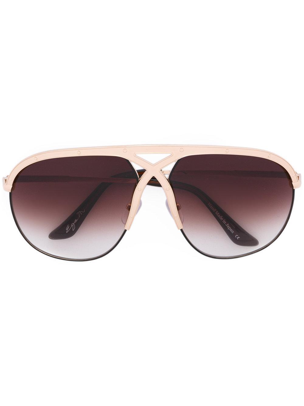 Frency & Mercury Voracious Sunglasses In Metallic