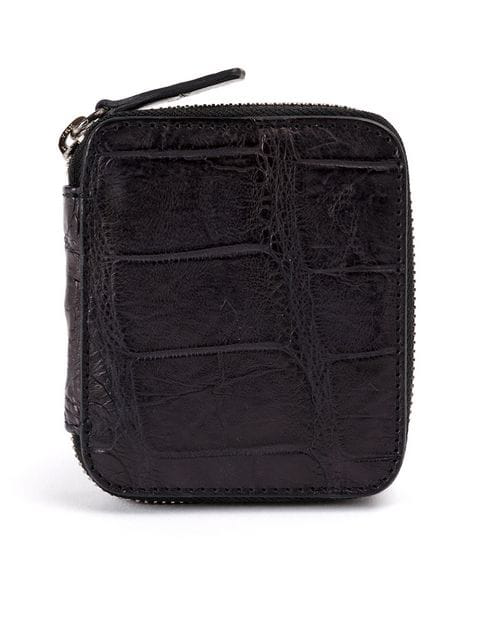 Isaac Sellam Experience Mini Zipped Wallet In Black