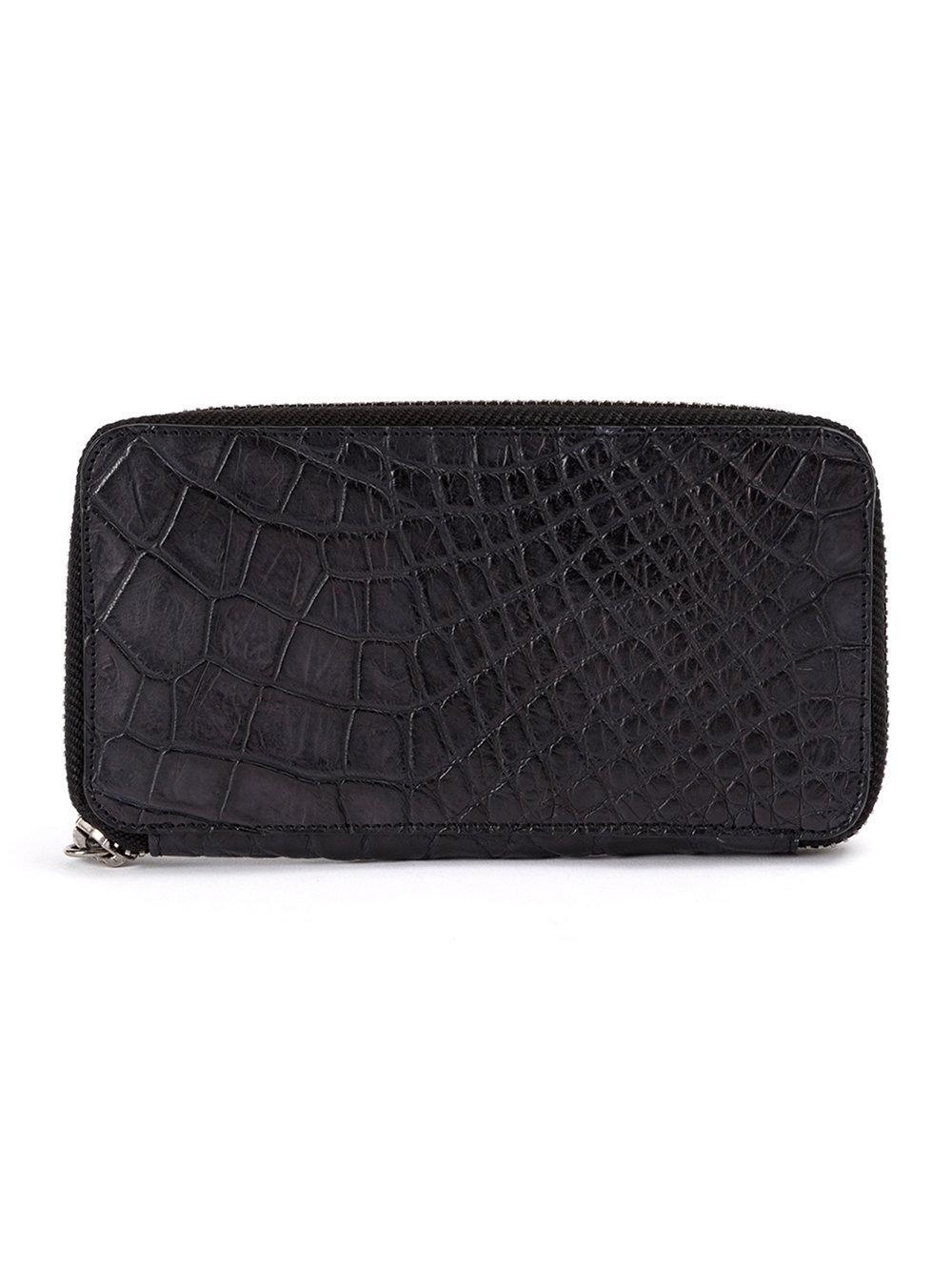 Isaac Sellam Experience Rectangular Zip-around Wallet - Farfetch In Black