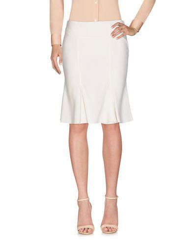 Blumarine Knee Length Skirt In Ivory
