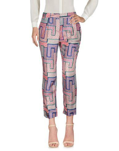 Msgm Casual Pants In Pink