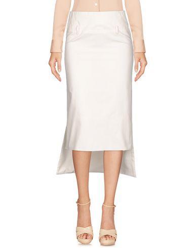 Lucio Vanotti Knee Length Skirt In White