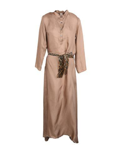 Daniela Pancheri Long Dress In Light Brown