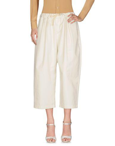 Sofie D'hoore Cropped Pants & Culottes In Ivory