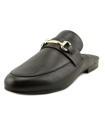 Steve Madden Kandi Women  Round Toe Leather Black Mules