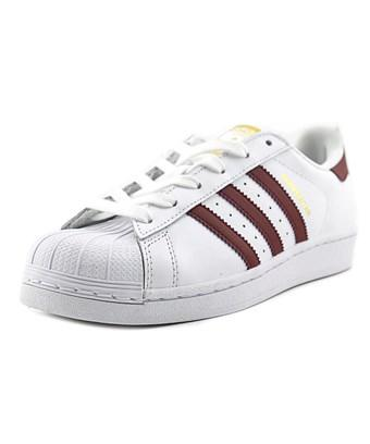 Adidas Originals Adidas Superstar W Women  Round Toe Leather White Sneakers