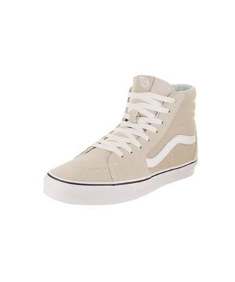 quality design 00227 4f9d3 Vans Unisex Sk8-Hi Skate Shoe In Silver Lining True White