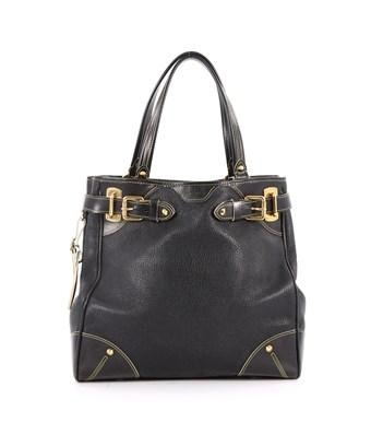 Louis Vuitton Pre-owned: Suhali Le Majestueux Handbag Leather In Black