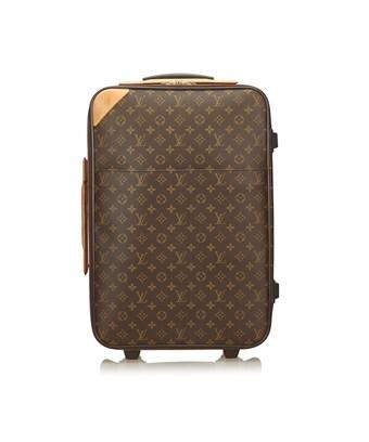 Louis Vuitton Pre-owned: Monogram Pegase 60 In Brown