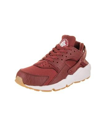 Nike Women's Air Huarache Run Se Running Shoe In Cedar/cedar Gum Yellow White