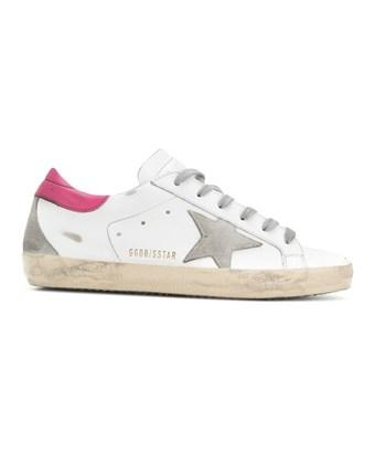 Golden Goose Women's  White Leather Sneakers