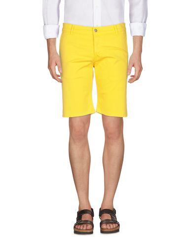 Grey Daniele Alessandrini Bermudas In Yellow