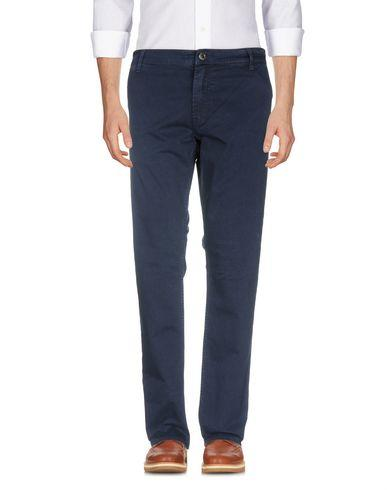 Guess Casual Pants In Dark Blue