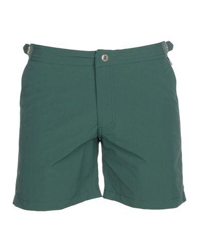 Mc2 Saint Barth Swim Shorts In Dark Green
