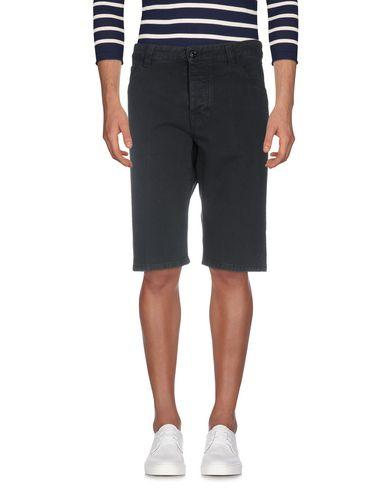 Emporio Armani Denim Shorts In Dark Blue