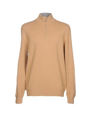 Gran Sasso Sweater With Zip In Camel