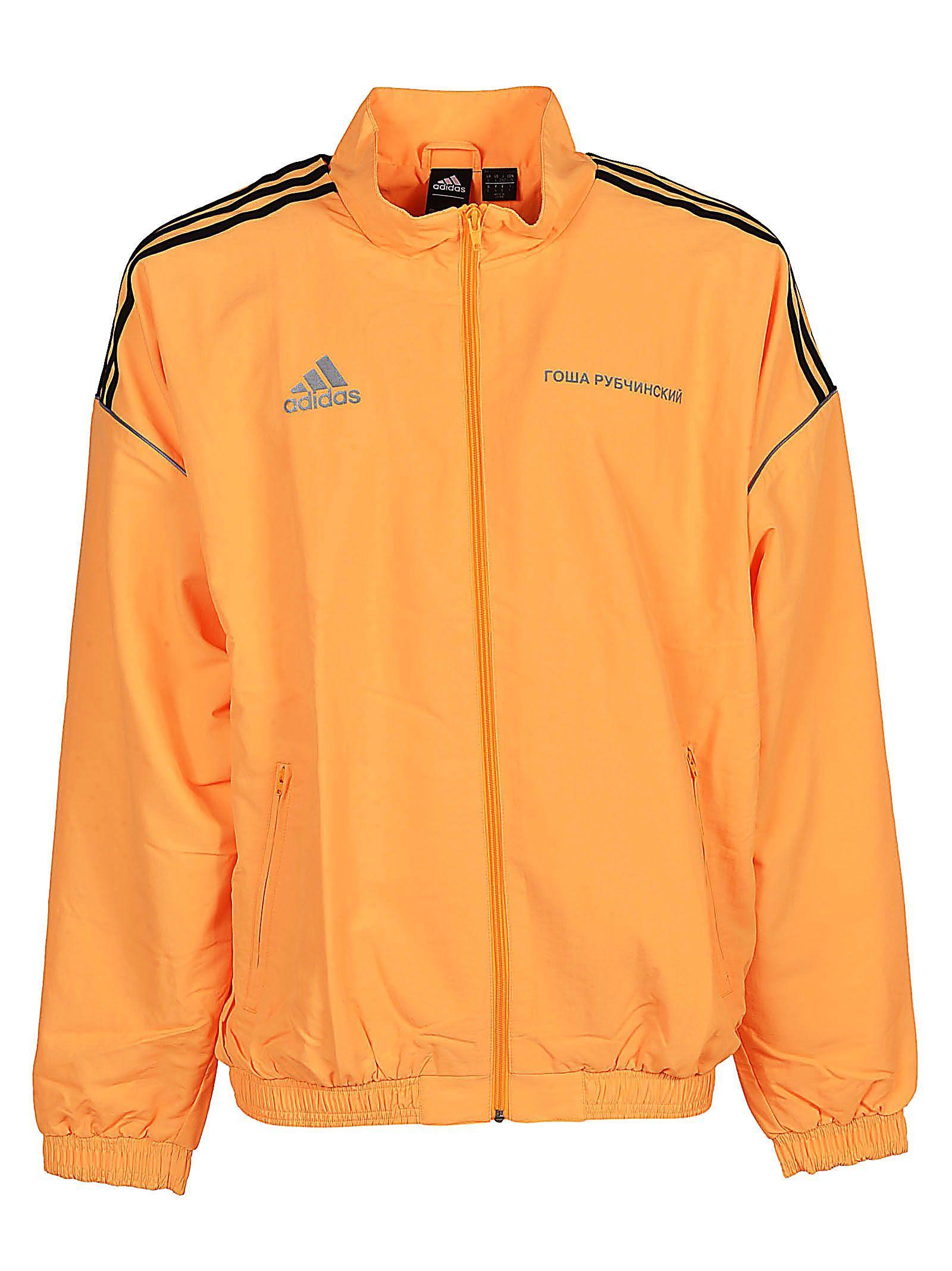 Gosha Rubchinskiy X Adidas Zipped Track Jacket In Orange