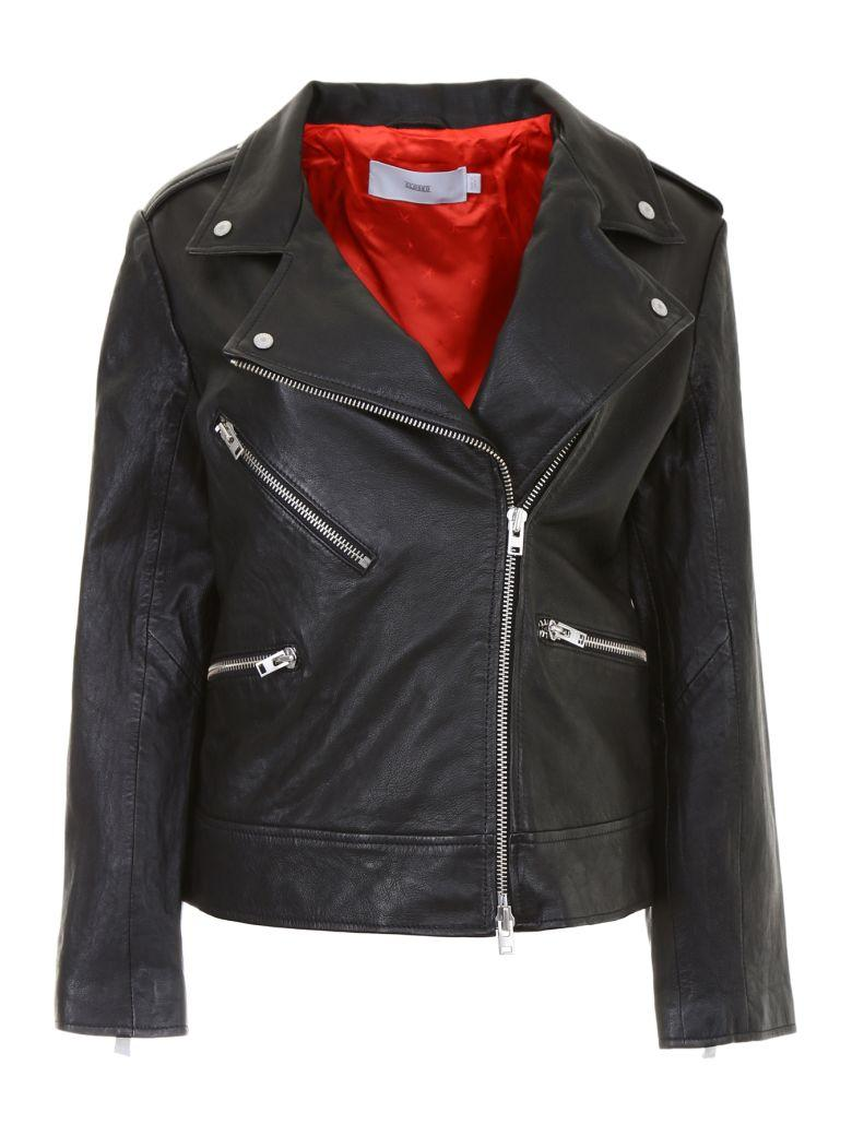 Closed Leather Juno Jacket In Basicbasic