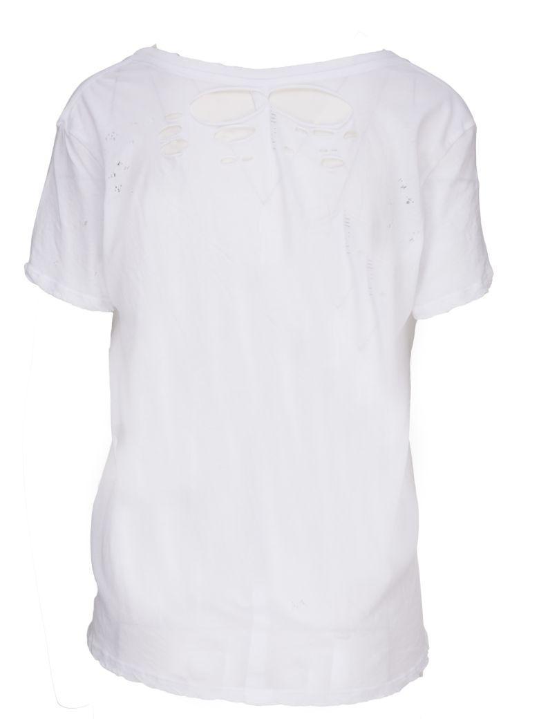 Ben Taverniti Unravel Project T-shirt In Bianco